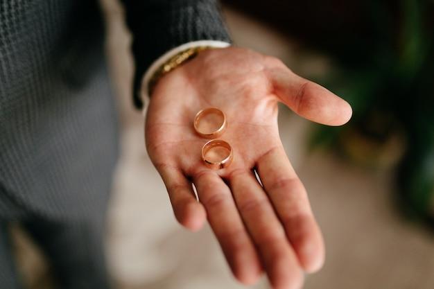 Anéis de casamento beatuful