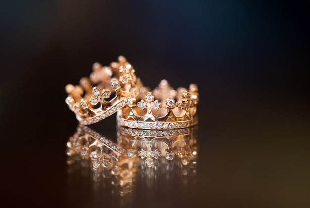 Anéis de casamento real