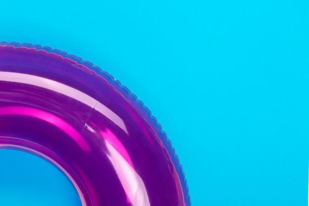 Anel de natação colorido