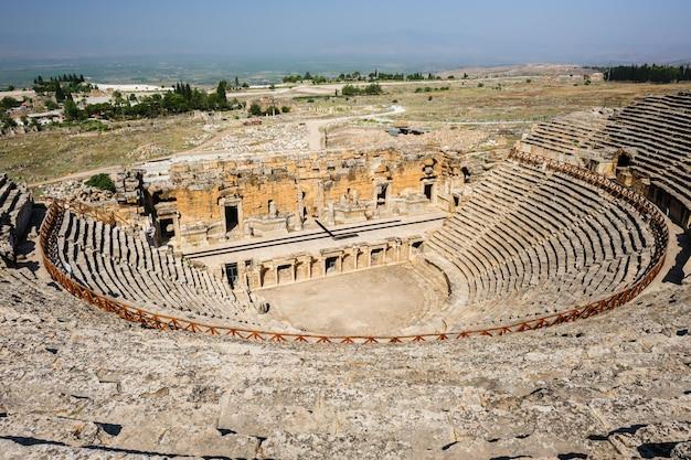 Anfiteatro antigo em hierapolis