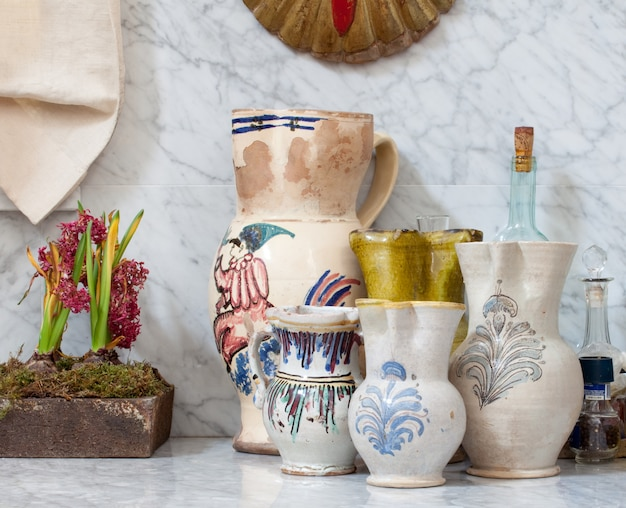 Ânforas de cerâmica