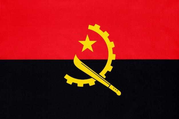 Angola tecido nacional bandeira têxtil