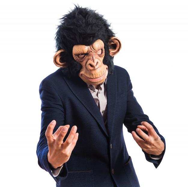 Angry monkey man