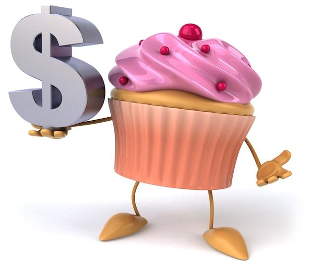 Animação de cupcake