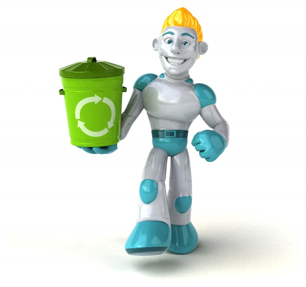 Animação de robô