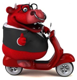 Animação divertida de red bull