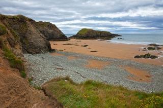 Annestown praia hdr fundo