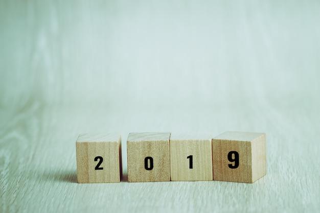 Ano novo 2019 planejando para negócios