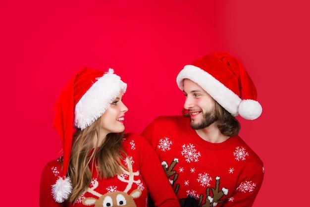 Ano novo casal natal casal presentes natal caixa presente publicidade emoções relacionamentos novo