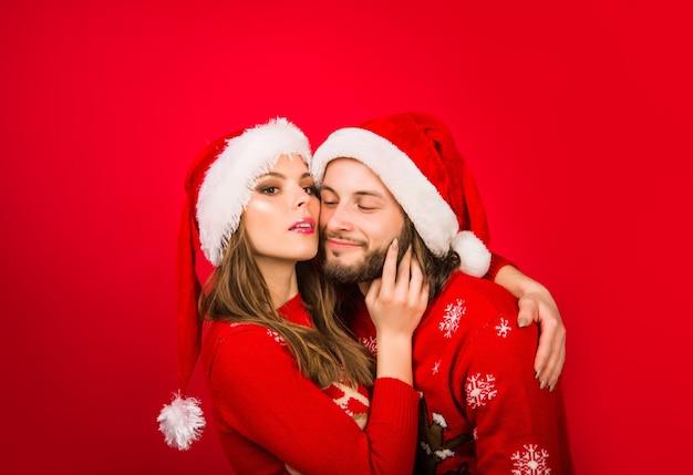 Ano novo casal presentes de natal caixa de presente de publicidade brindes apresenta relacionamentos venda de ano novo