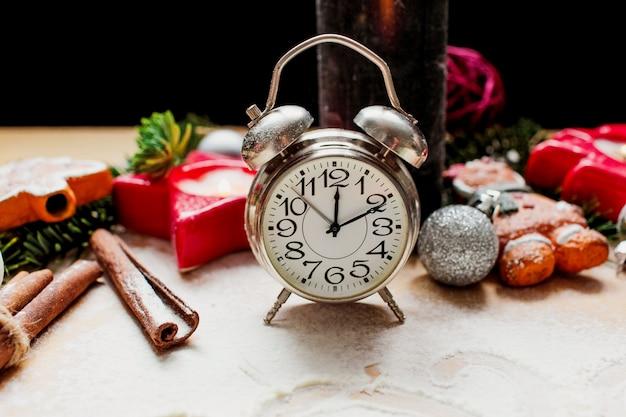 Ano novo e fundo de natal