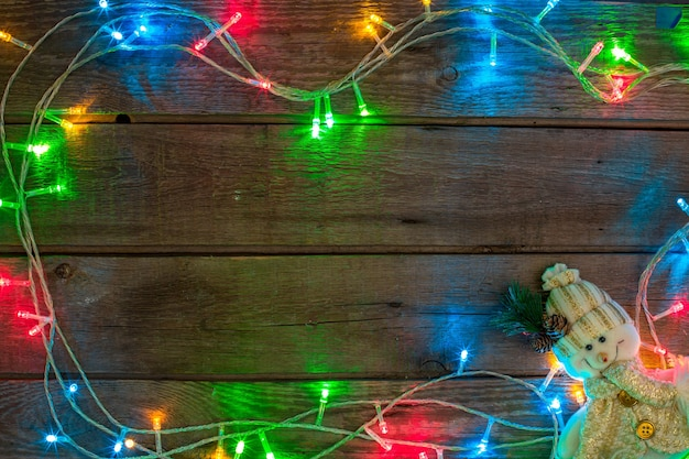 Ano novo e natal mokcup