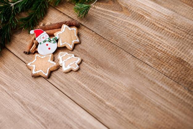 Ano novo festivo ou fundo de natal
