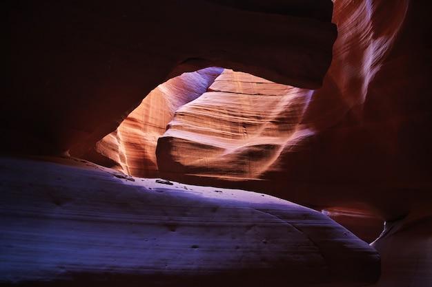 Antelope canyon no arizona, eua