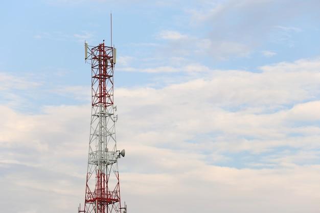 Antena para comunicações telefônicas.