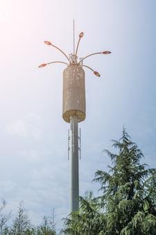 Antenas de comunicação