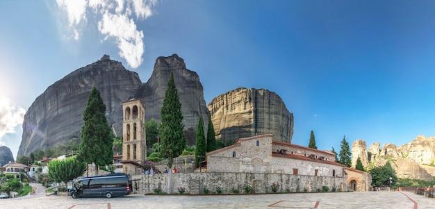 Antiga, bizantino, igreja, em, meteora, grécia