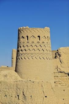 Antiga cidadela de meybod no irã