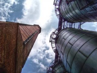 Antiga fábrica de tubos