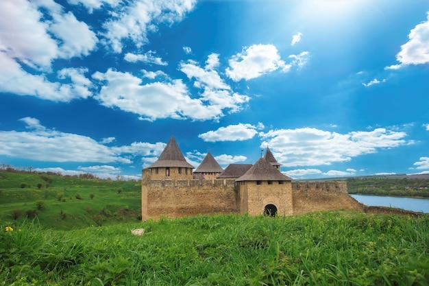 Antiga fortaleza de khotyn.