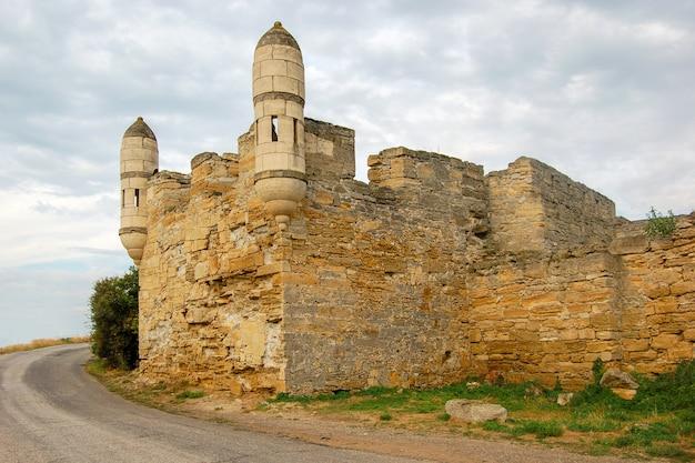 Antiga fortaleza na crimeia