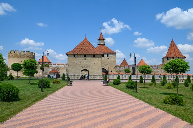Antiga fortaleza turca na tighina transnistria moldova