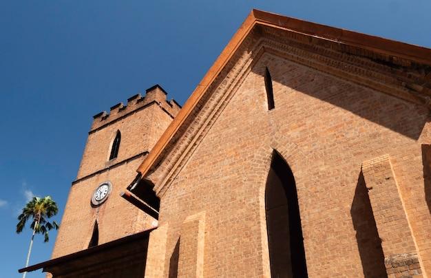 Antiga igreja no sri lanka, cidade de kandy