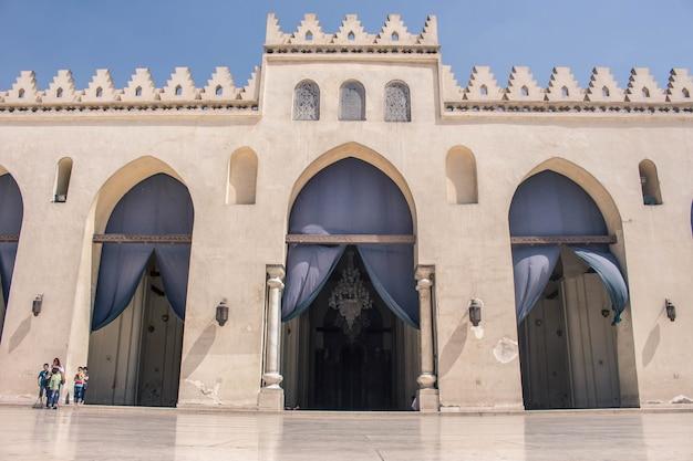 Antiga mesquita no cairo egito