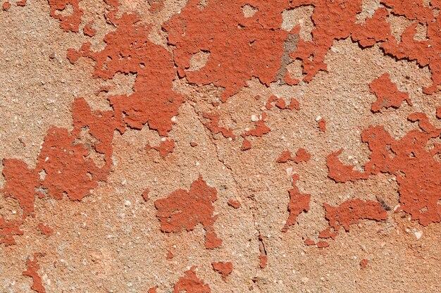 Antiga muralha pintada para plano de fundo ou textura