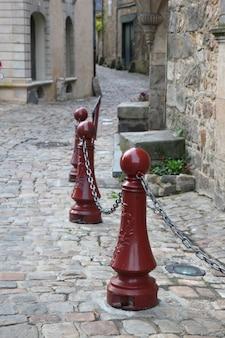 Antiga rua europeia