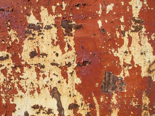 Antiga tinta rachada na parede. textura grunge