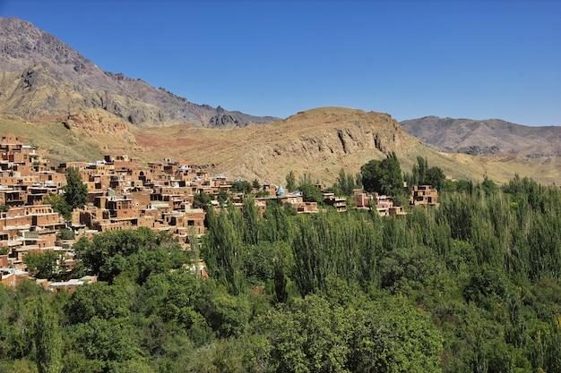 Antiga vila de abyaneh no irã