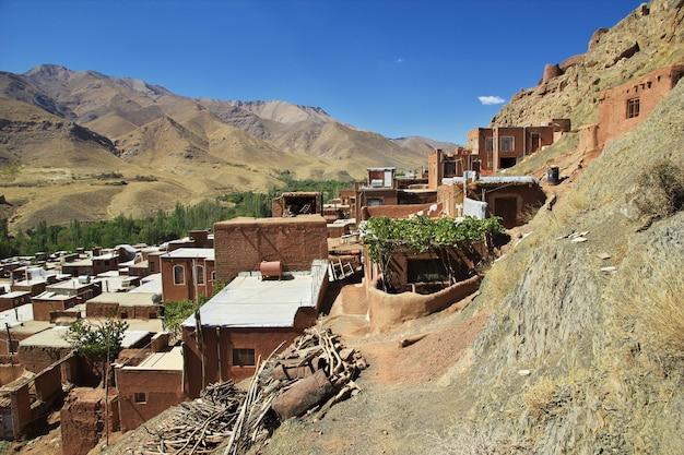 Antiga vila no irã