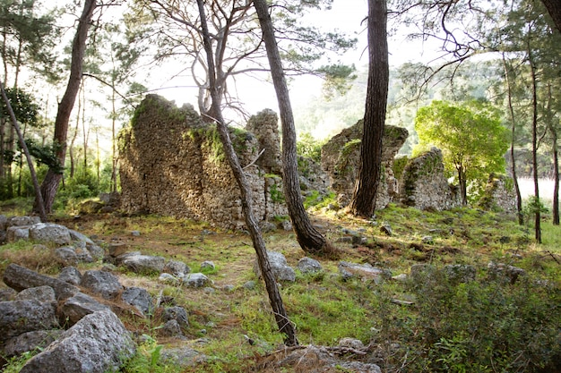 Antigas ruínas antigas