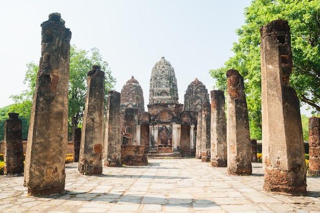 Antigas ruínas de um templo