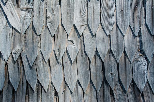 Antigo fundo de madeira cinza