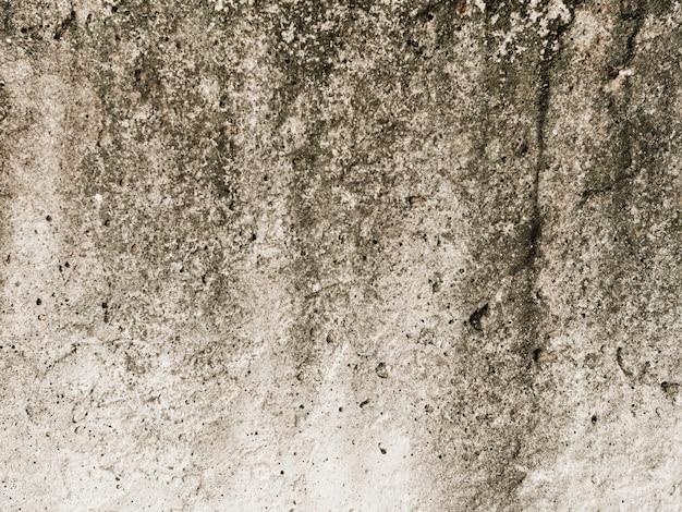 Antigo fundo de parede branca texturizada