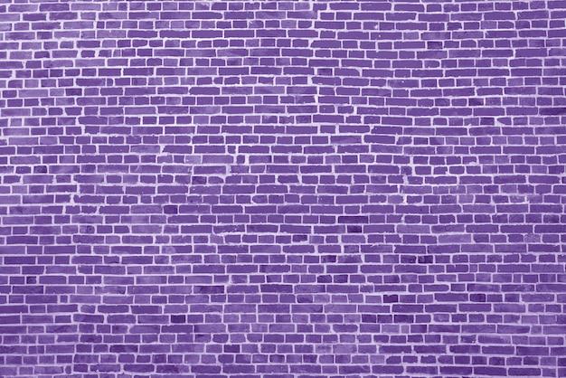 Antigo fundo de parede de tijolo roxo