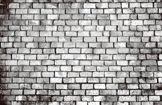 Antigo fundo de parede de tijolo texturizado