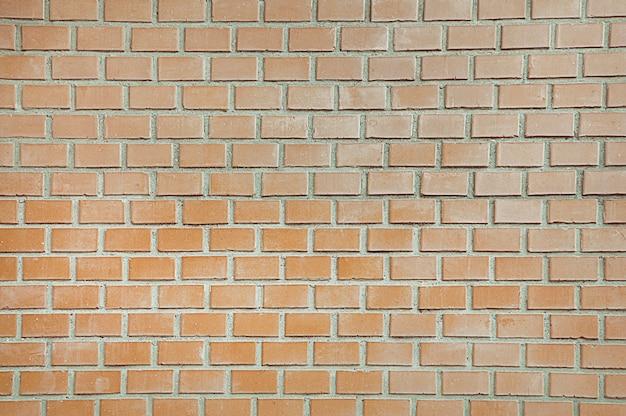 Antigo fundo de parede de tijolo vermelho