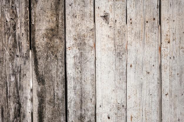 Antigo fundo de pranchas de madeira rústicas