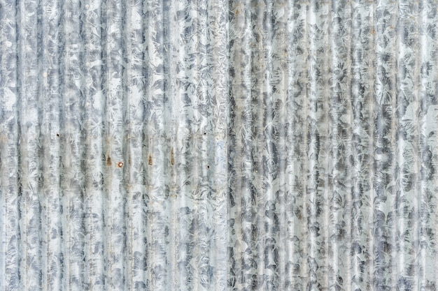 Antigo fundo de textura de chapa galvanizada