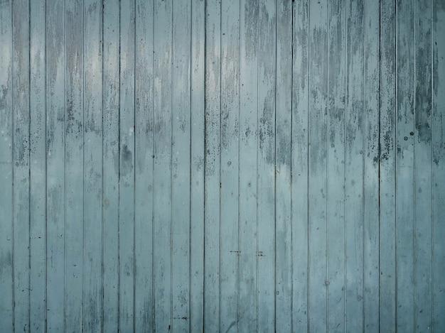 Antigo fundo de textura de madeira pintado de azul.