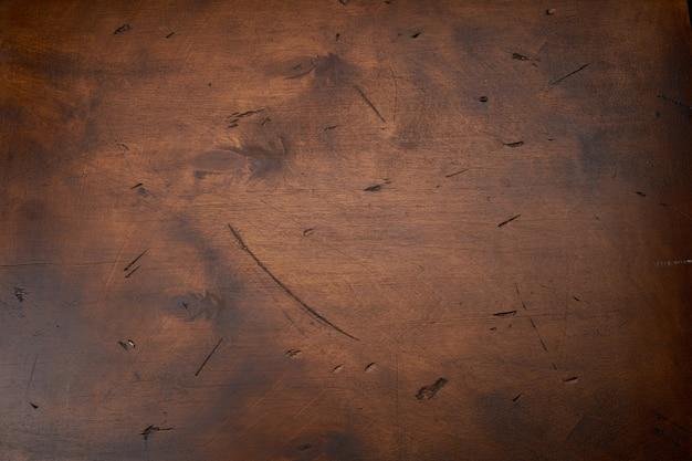 Antigo grunge escuro com textura de madeira compensada fundo