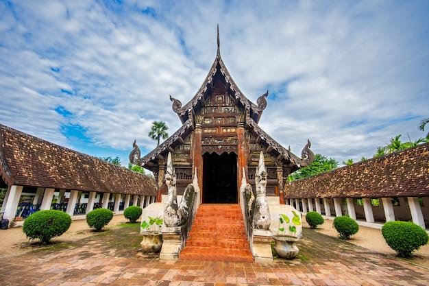 Antigo templo na tailândia