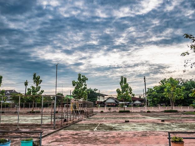 Antigo tribunal futsal