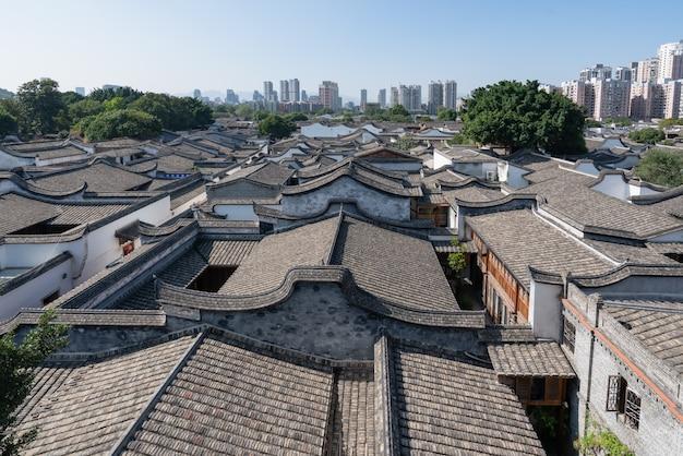 Antigos edifícios residenciais em fuzhou