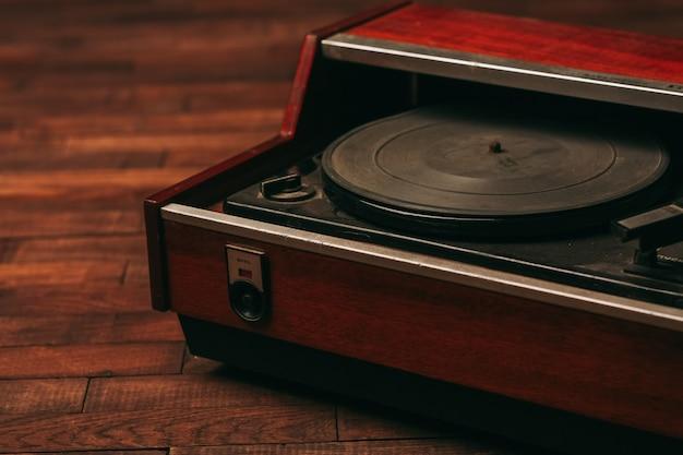 Antiguidades, toca-discos antigos vintage
