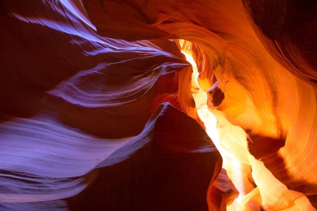 Antílope, desfiladeiro, arizona, ligado, navajo, terra, perto, página