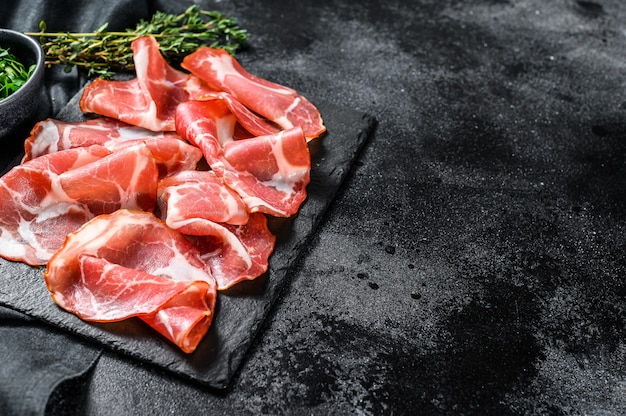 Antipasto italiano popular capicollo